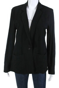 Majestic-Filatures-Womens-Stretch-Knit-Blazer-Black-Size-3