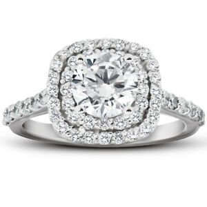 VS-2-Ct-Diamond-Cushion-Halo-Engagement-Ring-14k-White-Gold