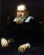 New 8x10 Photo: Portrait of Famed Italian Astronomer Galileo Galilei