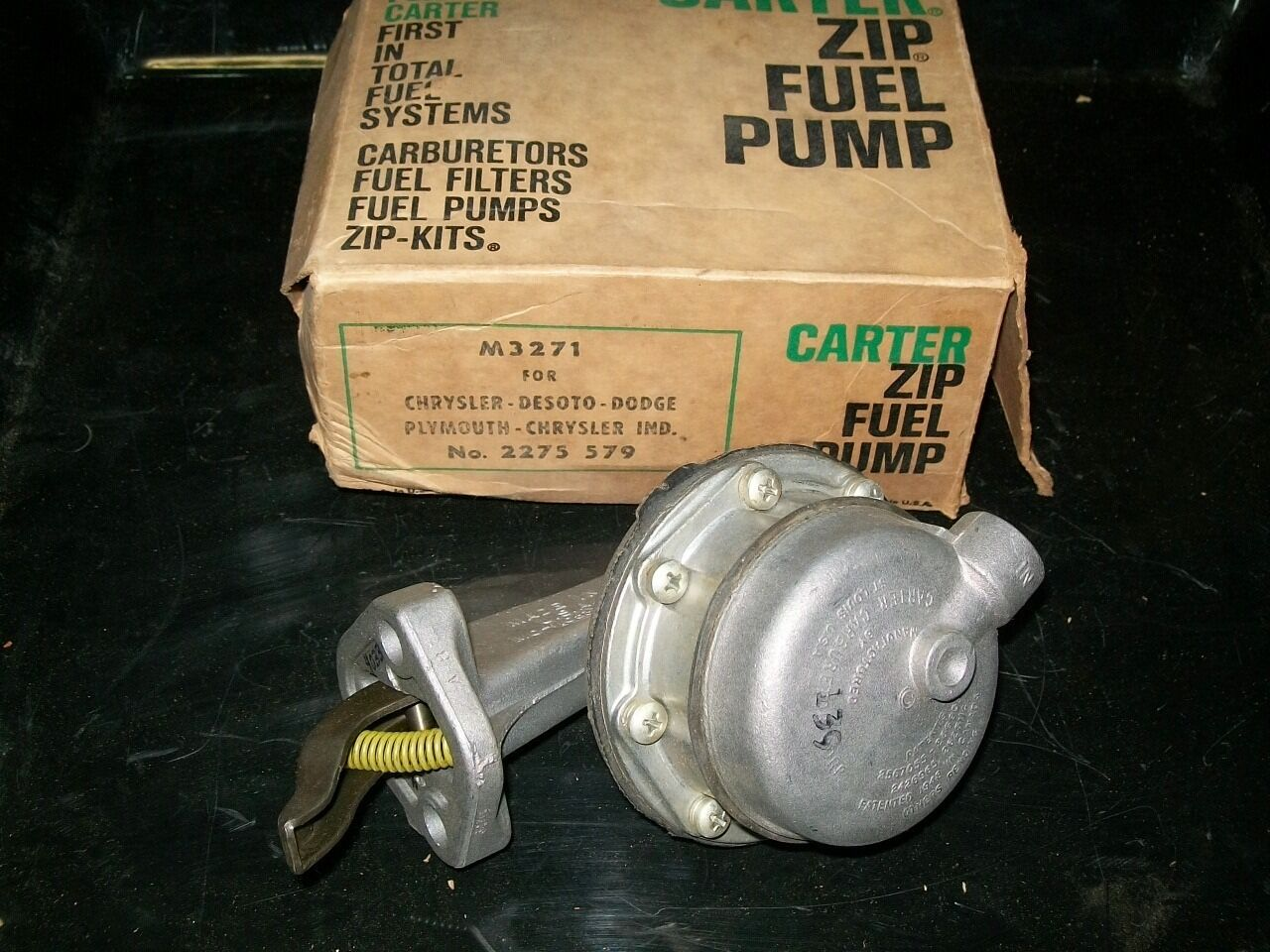 1957 63 Plymouth Dodge Desoto Chrysler V8 Nos Mopar 2275579 Carter Fuel Filters Norton Secured Powered By Verisign