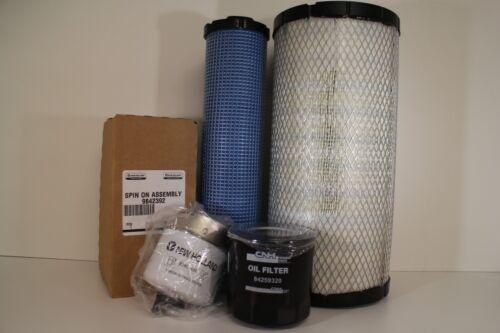 OEM Maintenance / Service Filter Kit for New Holland LS180 Skid Steer Loaders