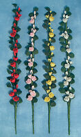 Dolls House Miniature 1/12th Scale Climbing Rose Available In Various Colours