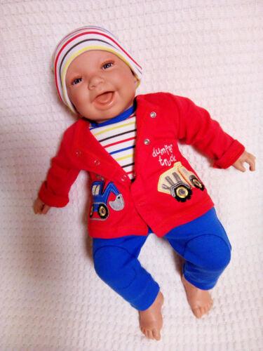 Baby Erstausstattungsset Geschenkset 4-tlg Jungs Rock a Bye Baby blau