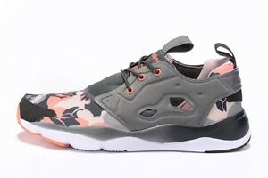 Reebok-Classic-Furylite-Candy-Girl-Sizes-3-5-6-5-Grey-Pink-RRP-70-BNIB-V68793