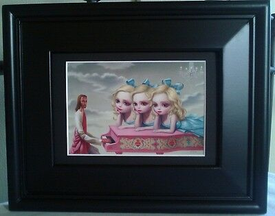Mark Ryden Pink Piano Man Girls Triplets Lowbrow Artwork Spread Love No Hate