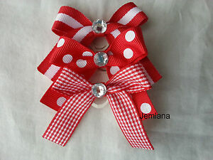 Jemlana-039-s-handmade-dog-cat-pet-grooming-bows-for-3-bows