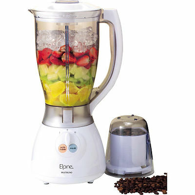 2L ELECTRIC MULTI FOOD BLENDER LIQUIDISER PROCESSOR BLACK GRINDER SMOOTHIE 500W
