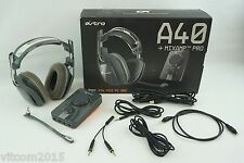 ASTRO A40 Cray Gaming Headset + MixAmp Pro (PS4, PS3, PC, Mac) Read