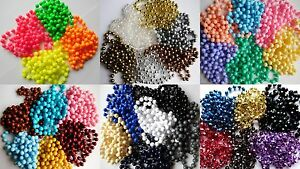 Long-Rope-Bead-Necklace-48-90-034-Neon-Black-Silver-White-Pearl-Etc-1-99-Each