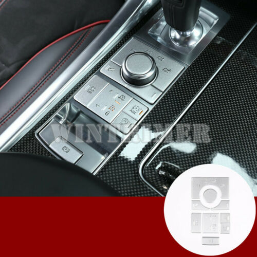 Inner Console Drive Mode Terrain Button Cover For Land Rover Range Rover Sport