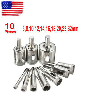 10-Diamond-Holesaw-Drill-Bit-Hole-Saw-Set-For-Cutter-Glass-Ceramic-Marble-6-32mm