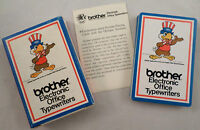Brother Electronic Office Typewriters Deck Of Cards Olympic Partner