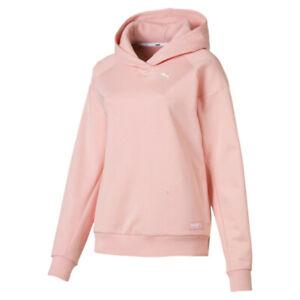 Details zu Puma Fusion Damen Hoodie 854341 19 Peach Bud rosa Kapuzenpulli Kapuzenpullover