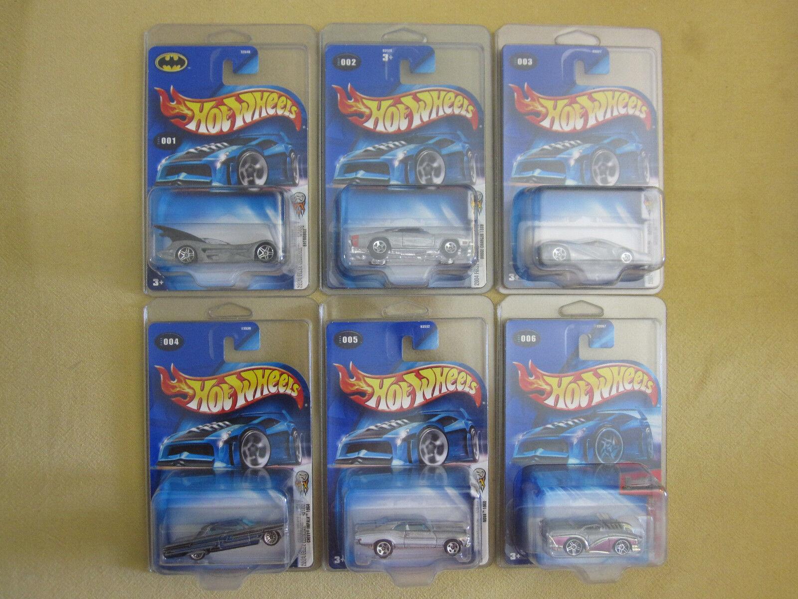 Hot Wheels 2004 First Editions Zamac 36 Car Set (No Duplicates)