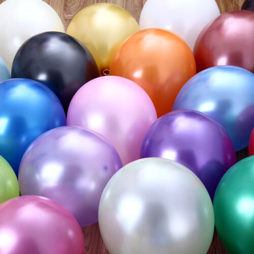 "12/"" HeavyDuty Birthday Wedding Party Decoration Latex Helium Quality Balloons"