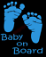 Baby-On-Board-Sticker-Vinyl-Decal-Window-Sticker-Car thumbnail 2
