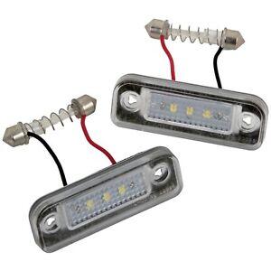 LED-Eclairage-de-Plaque-pour-Mercedes-Classe-E-S211-W211-2002-2009-7221