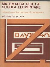 MATEMATICA PER LA SCUOLA ELEMENTARE National Council of teachers of mathematics
