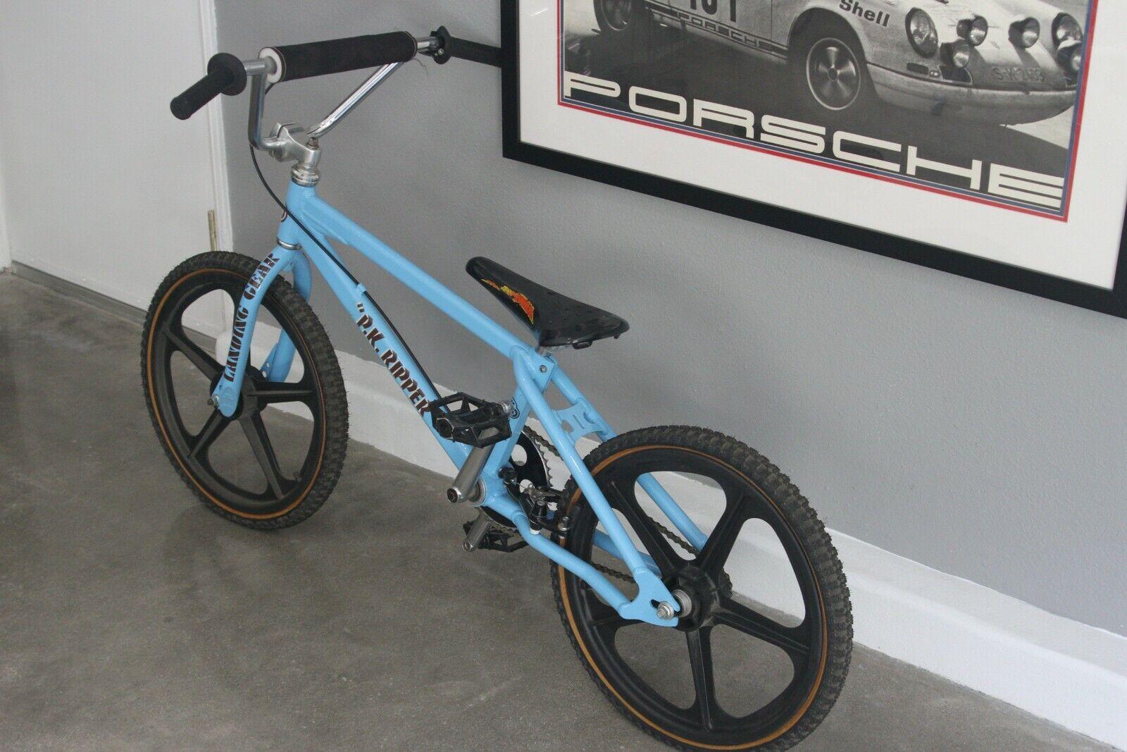 Old school vintage bmx bikes