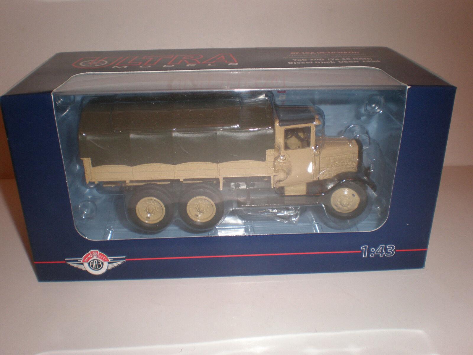 1 43 camión Yag ruso - 10D 1934 Modelos Ultra