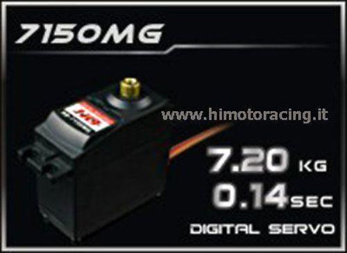 7150mg servo digitale da 20 kg ingranaggi in metallo macht hd 4,8v   6v metall.