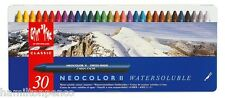 CARAN D'ACHE NEOCOLOR II TIN of 30 water soluble wax pastels