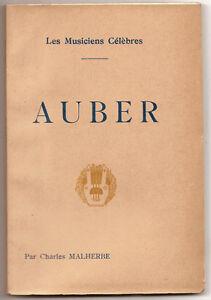 AUBER-par-Charles-MALHERBE-1928