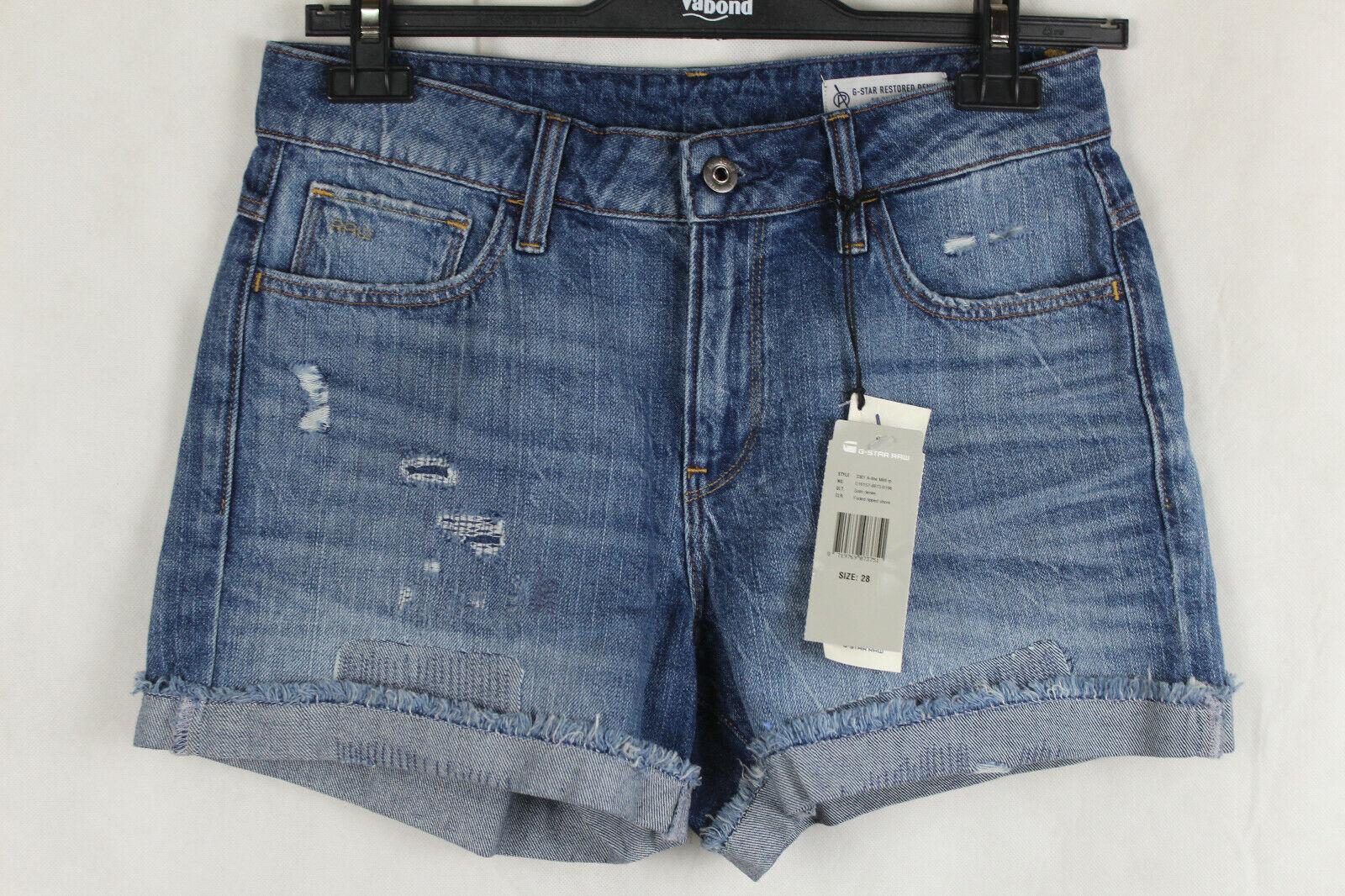G-Star 3301 A-line Midi rp Shorts Jeansshorts Damen Gr.W28 (36),neu