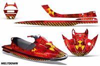 Amr Racing Jet Ski Wrap Kawasaki Sport Tourer 1100 Sxx Graphics Kit 97-99 Mltdwn