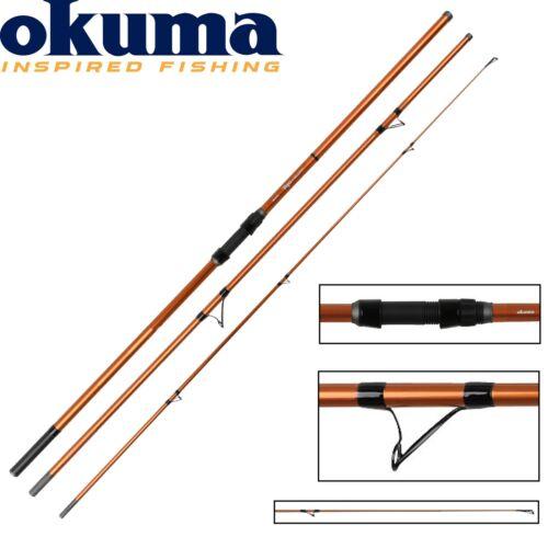Angelrute zum Meeresangeln Okuma Trio Rex Surf 420cm 100-200g Brandungsrute