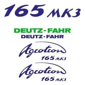 Details About Deutz Fahr Agrotron 165 Mk3 Tractor Decal Aufkleber Sticker