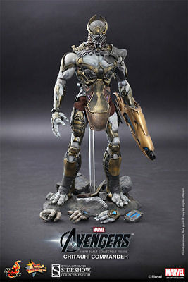 Hot Toys AVENGERS CHITAURI COMMANDER 1//6 SCALE FIGURE MMS 227 NEW Factory Sealed