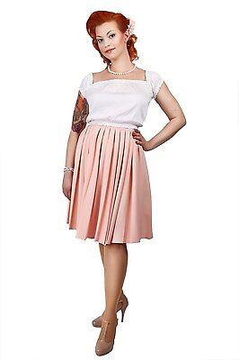 Collectif Vintage Arlene Pleated Skirt