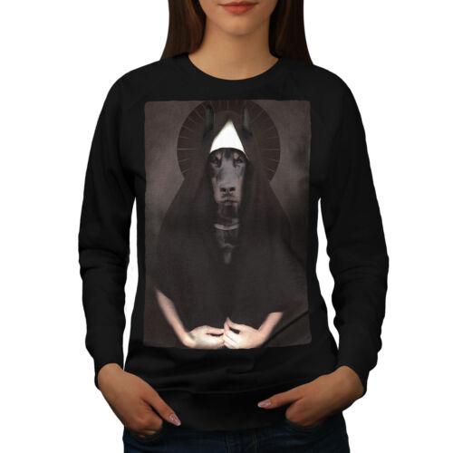 PET Casual Pullover Pull Wellcoda doberman animal drôle chien Femme Sweat-shirt