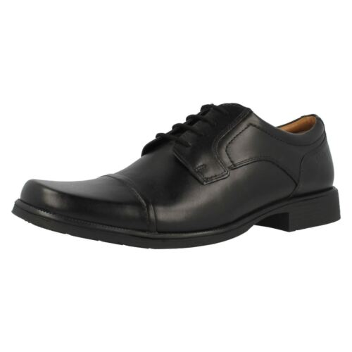 raccordo Clarks Cap Huckley scarpe Oxford nero G stringate pelle Mens in Smart wOfqdwnP