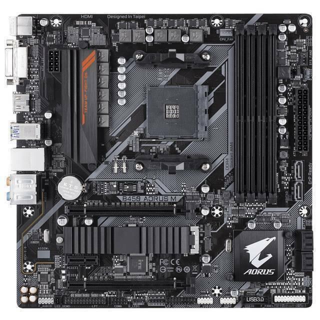 Gigabyte B450 Aorus M Socket Am4 Amd B450aorusm Motherboard For Sale Online Ebay