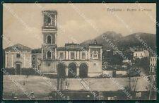 Napoli Ercolano Pugliano Tram PIEGA cartolina XB3812