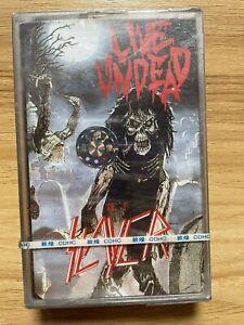 Slayer Live Undead China 1st Press Cassette Tape Sealed