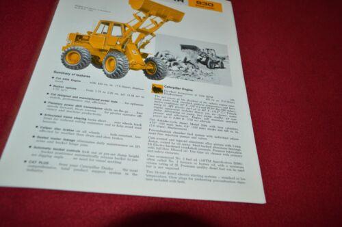 Caterpillar 930 Wheel Loader Dealer/'s Brochure DCPA8