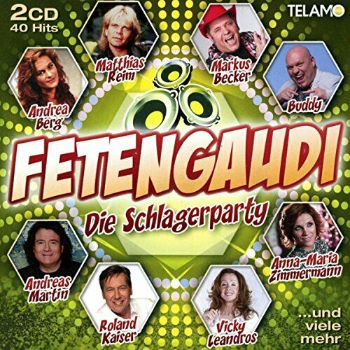 VARIOUS-FETENGAUDI-DIE SCHLAGERPARTY (US IMPORT) CD NEW
