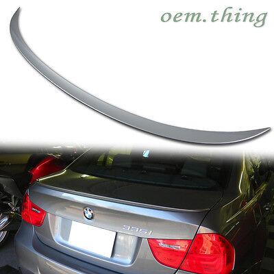 PAINTED For BMW E90 4D SEDAN OE TRUNK SPOILER 3 SERIES 330I 323I 328I M3 316d