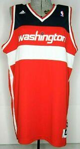 c0899f4ebf98 Image is loading Washington-Wizards-NBA-Adidas-XL-Blank-Red-Jersey