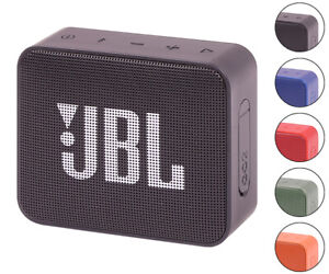 JBL GO 2 Portable Waterproof Wireless Bluetooth Speaker All Colors