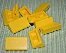 roof brick 1x2 slope nine new 6 x lego 85984 slope roof brick yellow yellow