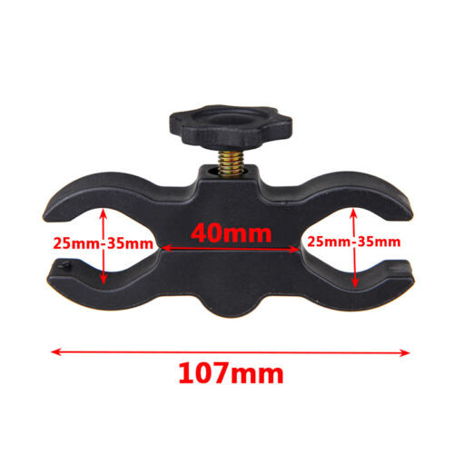 20mm 30mm Barrel Mount Clip Taitical Flashlight Torch Sight Laser Scope Clamp