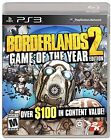 Borderlands 2 Game of the Year GOTY Sony PlayStation 3 Brand New Sealed PS3