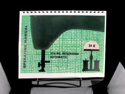 Husqvarna Viking 21E Sewing Machine Instructrions REPRINT MANUAL
