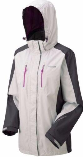 New Women/'s Regatta Calderdale Waterproof Jacket Light Steel Iron UK 10 EUR 36