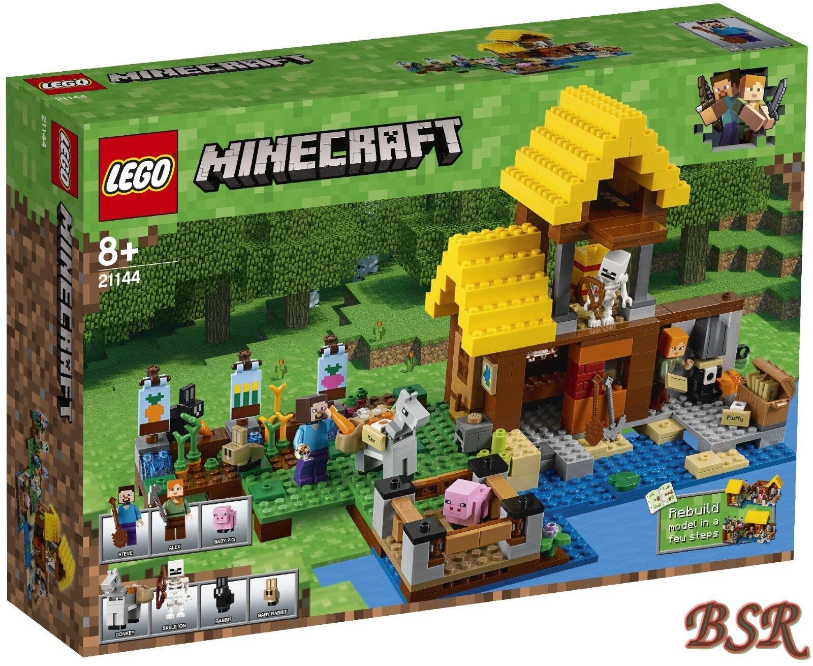 LEGO® Minecraft  21144 Farmhäuschen & 0.- Versand & & & NEU & OVP 1f8489