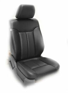 ford f150 xl stx super cab 2013 14 40 20 40 factory leather replace seat cover ebay. Black Bedroom Furniture Sets. Home Design Ideas